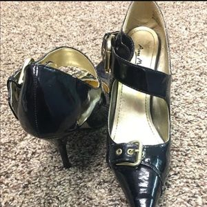 Shoes - High heels leather black